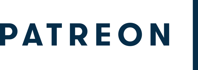Patreon wordmark (navy)